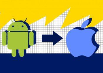Как перенести данные с Android на iPhone