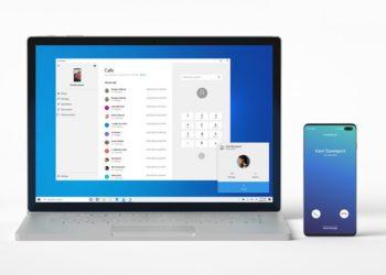 На Windows 10 теперь можно звонить и принимать вызовы с Android-смартфона