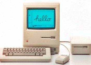Презентация первого Macintosh 1984 года