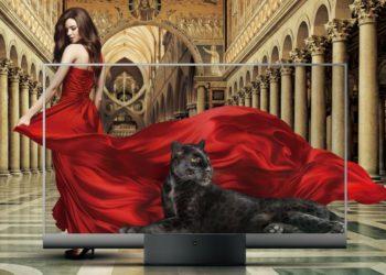 Xiaomi анонсировала новый прозрачный телевизор Mi TV LUX с OLED-дисплеем и частотой 120 Гц