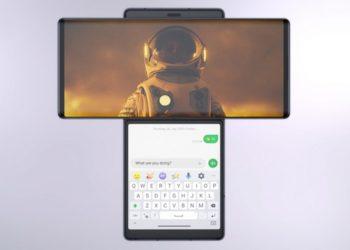 LG представила T-образный смартфон Wing с двумя экранами