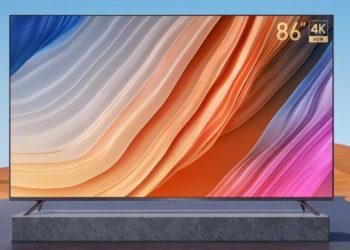 Xiaomi представила самый дешёвый 4K-телевизор с диагональю 86″